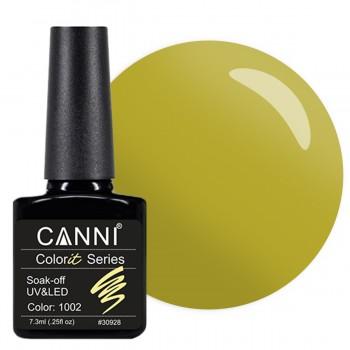 Гель-лак Canni Colorit №1002, 7,3 мл купить по лучшей цене в Украине