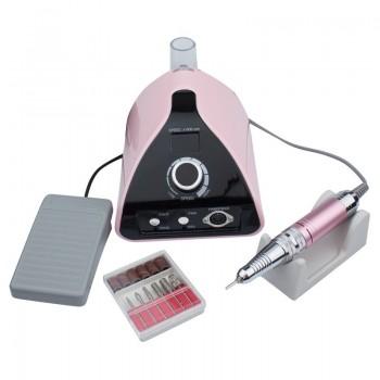 Фрезер для маникюра и педикюра ZS-711 Professional 35000 об/мин (розовый)