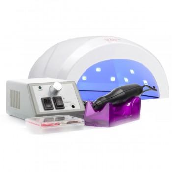 Набор UV/LED лампа SUN One 48 Вт + Фрезер для маникюра Lina Mercedes 20000 об/мин купить по лучшей цене в Украине