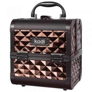 Кейс для косметики Kodi №33 (Кофейный) купить по лучшей цене в Украине