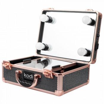 Кейс для косметики Kodi №34 (Черный диамант) купить по лучшей цене в Украине