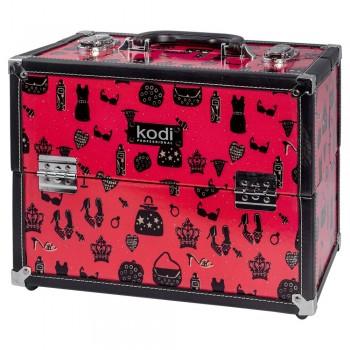 Кейс для косметики Kodi №38 (Красный) купить по лучшей цене в Украине