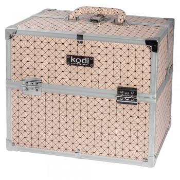 Кейс для косметики Kodi №41 (Пудровый) купить по лучшей цене в Украине