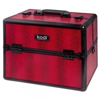 Кейс для косметики Kodi №42 (Red Snake) купить по лучшей цене в Украине