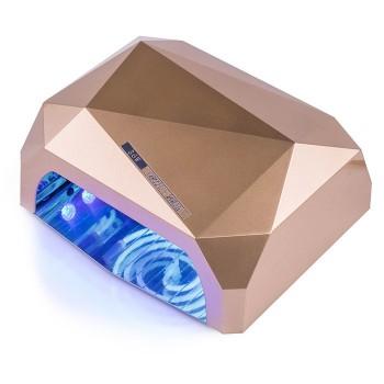 LED+CCFL Лампа для маникюра Diamond 36 Вт (Золотой) купить по лучшей цене в Украине