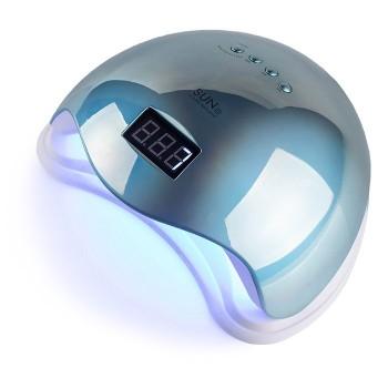 UV/LED Лампа для маникюра SUN 5 48 Вт (Зеркальный голубой)