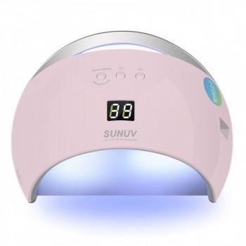 UV-LED лампа для маникюра универсальная Sun 6 48 Вт (Розовая) Оригинал