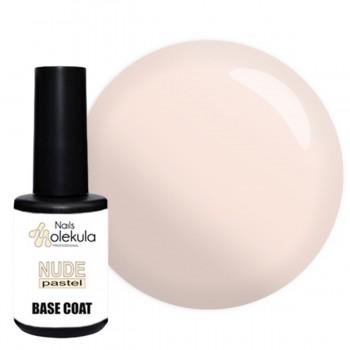 Камуфлирующая каучуковая база для гель-лака Molekula Base Rubber Nude Pastel купить по лучшей цене в Украине