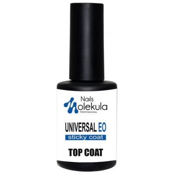 Верхнее покрытие для гель-лака Molekula Top Universal Eo Sticky купить по лучшей цене в Украине