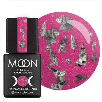 Гель-лак Moon Full Diamond №002 (Розовый с серебристым глиттером), 8 мл купить по лучшей цене в Украине