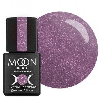 Гель-лак Moon Full Diamond №004 (Сиренево-серебристый глиттер), 8 мл купить по лучшей цене в Украине