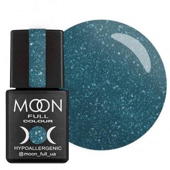 Гель-лак Moon Full Diamond №006 (Ярко-бирюзовый с серебряным глиттером), 8 мл купить по лучшей цене в Украине