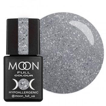 Гель-лак Moon Full Diamond №007 (Бело-серебряный глиттер), 8 мл купить по лучшей цене в Украине