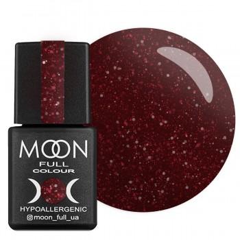 Гель-лак Moon Full Diamond №021 (Насыщенный бордовый с розовым шиммером), 8 мл купить по лучшей цене в Украине