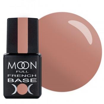 Камуфлирующее базовое покрытие Moon Full Base French №003 (Розовый персик) купить по лучшей цене в Украине