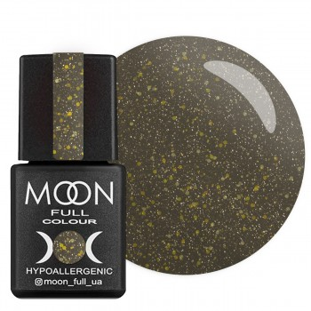 Верхнее покрытие для гель-лака Moon Full Top Glitter №002 (Золото), 8 мл купить по лучшей цене в Украине