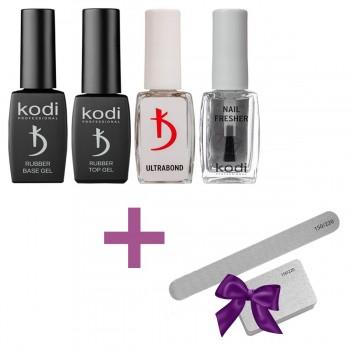 Набор вспомогательных жидкостей Kodi Professional (Пилка и баф в подарок) купить по лучшей цене в Украине