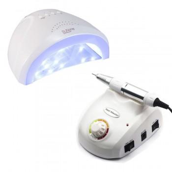 Набор UV/LED лампа SUN One 48 Вт + Фрезер для маникюра Nail Master 30000 об/мин купить по лучшей цене в Украине