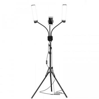 Двойная светодиодная лампа для макияжа RK-39 купить по лучшей цене в Украине