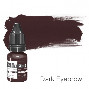 Пигмент для микроблейдинга WizArt Microblading Dark Eyebrow 10 мл