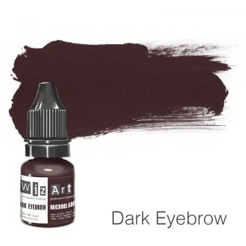 Пигмент для микроблейдинга WizArt Microblading Dark Eyebrow 5 мл