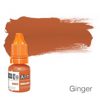 Пигмент для татуажа WizArt Inorganic Ginger 5 мл купить по лучшей цене в Украине