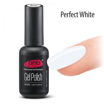 Гель-лак PNB Perfect White, 8 мл купить по лучшей цене в Украине