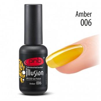 Гель-лак PNB Illusion №006 Amber, 8 мл купить по лучшей цене в Украине