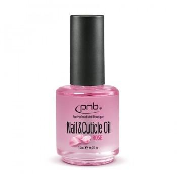 Масло для кутикул с ароматом розы PNB Nail&Cuticle Oil, Rose купить по лучшей цене в Украине