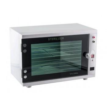 Ультрафиолетовый стерилизатор для маникюрных и парикмахерских инструментов VS 208A (Белый) купить по лучшей цене в Украине