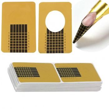 Формы для наращивания YRE Gold Slim 10 шт