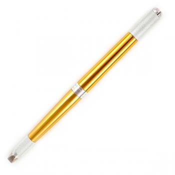 Ручка-манипула для микроблейдинга Vivienne трёхсторонняя (золото) купить по лучшей цене в Украине