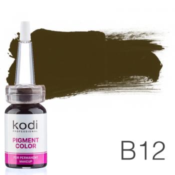 Пигмент для татуажа Kodi Professional B12 10 мл купить по лучшей цене в Украине