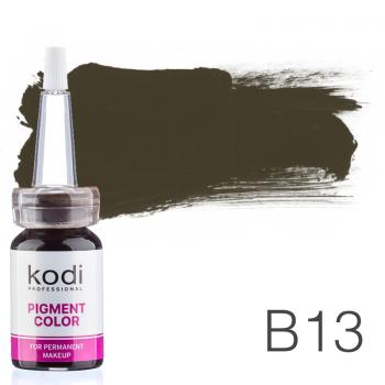 Пигмент для татуажа Kodi Professional B13 10 мл купить по лучшей цене в Украине