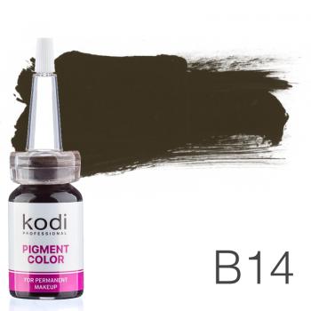 Пигмент для татуажа Kodi Professional B14 10 мл купить по лучшей цене в Украине