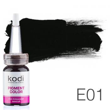 Пигмент для татуажа Kodi Professional E01 10 мл купить по лучшей цене в Украине
