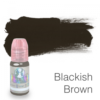 Пигмент для татуажа Perma Blend Blackish Brown 15 мл