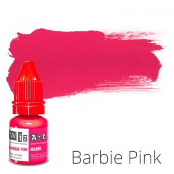 Пигмент для татуажа WizArt Organic Barbie Pink 5 мл купить по лучшей цене в Украине
