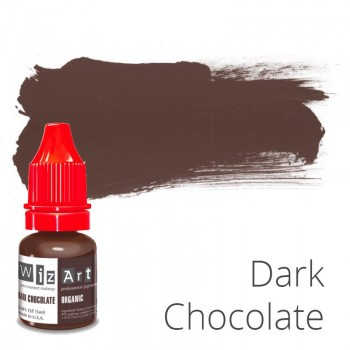 Пигмент для татуажа WizArt Organic Dark Chocolate 5 мл