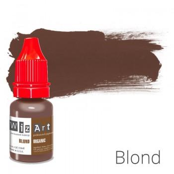 Пигмент для татуажа WizArt Organic Blond 10 мл купить по лучшей цене в Украине