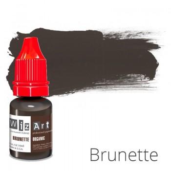 Пигмент для татуажа WizArt Organic Brunette 10 мл купить по лучшей цене в Украине