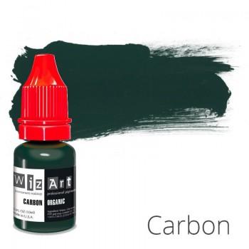 Пигмент для татуажа WizArt Organic Carbon 10 мл купить по лучшей цене в Украине