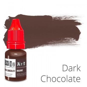 Пигмент для татуажа WizArt Organic Dark Chocolate 10 мл купить по лучшей цене в Украине