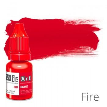 Пигмент для татуажа WizArt Organic Fire 10 мл купить по лучшей цене в Украине