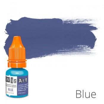 Пигмент для татуажа WizArt Strong Blue 5 мл купить по лучшей цене в Украине