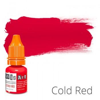 Пигмент для татуажа WizArt Strong Cold Red 5 мл купить по лучшей цене в Украине