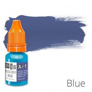 Пигмент для татуажа WizArt Strong Blue 10 мл купить по лучшей цене в Украине