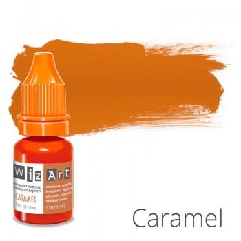 Пигмент для татуажа WizArt Strong Caramel 10 мл купить по лучшей цене в Украине