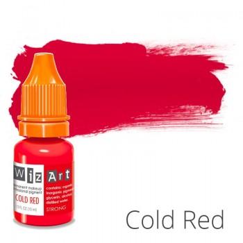 Пигмент для татуажа WizArt Strong Cold Red 10 мл купить по лучшей цене в Украине