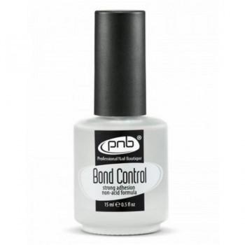 Бескислотный праймер для ногтей PNB Bond Control, 15 мл